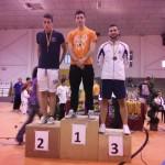Borja en el podio