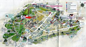 Suwon - Mapa fortalezab
